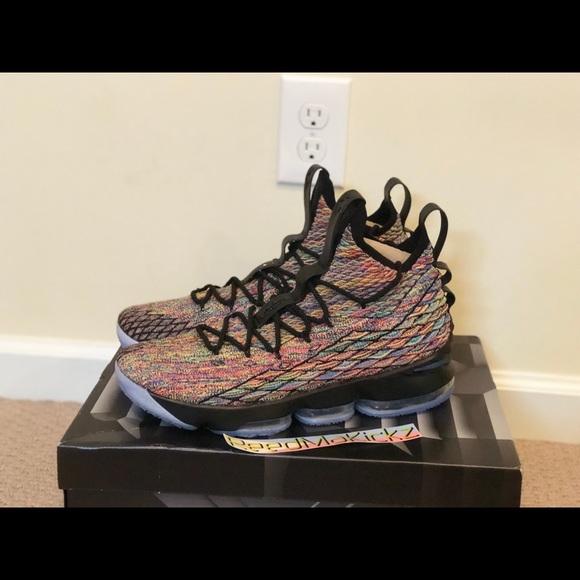 pretty nice 7ad12 bc67b Nike Lebron 15 XV Multi color Four Horsemen